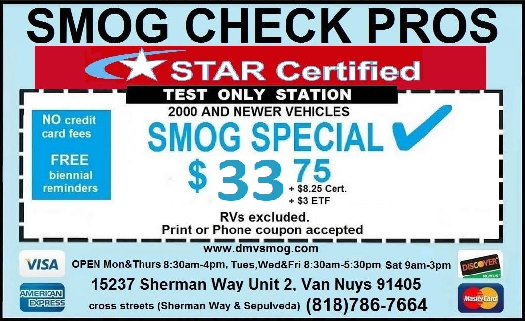 Smog Check Pros Coupon