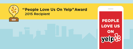 smog check award for excellence by yelp