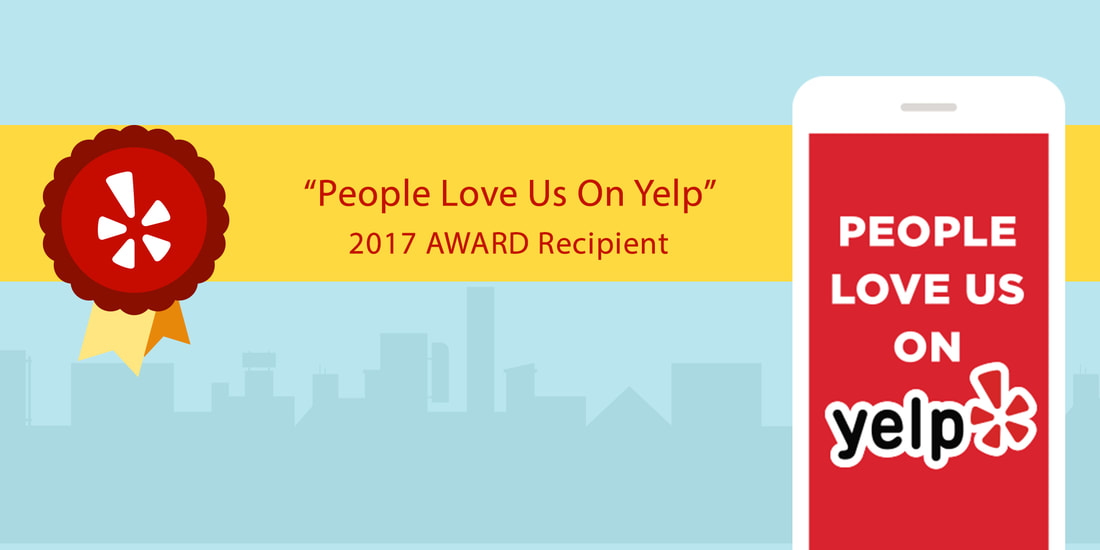 Smog Station Service Excellence Award By Yelp