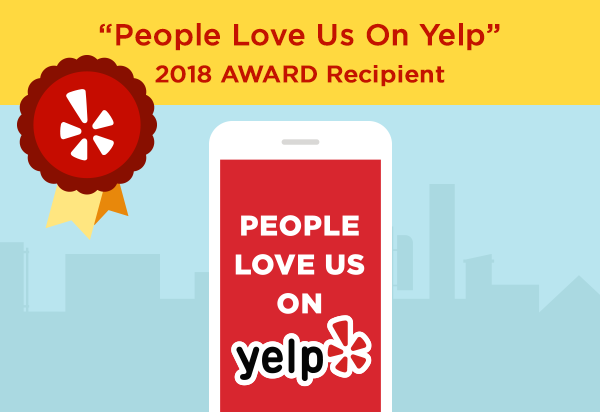 smog test center 2018 service award by yelp